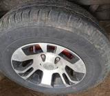 14 Alloy Wheels with Tires 185*14