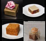Wedding Cake Pieces - Golden