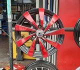 13' KWID Alloy Wheel