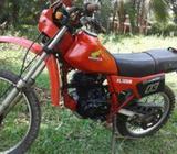 Honda XL 125R 2000