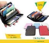 Design Aluma Wallet Credit Card Holder