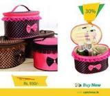 Bow Storage Bag – Cosmetics Organizer