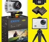 Action Camera 20Mp 4K Water Proof with Remote & CCTV