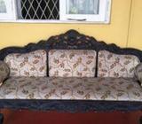 Kolon Wood Couch