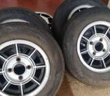 Alloy Wheel 13 Inch with Tires