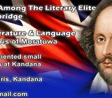 Cambridge  OL & AL English language  literature