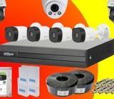 Dahua 4 CH CCTV Camera Systems (2MP/1080P