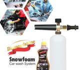 Premium car wash system .Snow foam cannon ,  Snow foam shampoo