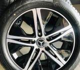 Benz Alloy and Tyre 17
