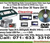 VHS Video Cassette Tapes Cleaning & to DVD Blue Ray Nugegoda