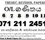 6 to 11 maths classes in sinhala