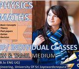 A/L Physics And O/L Maths Classes
