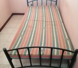 Two Similar Single Beds with mattress