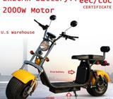 Harley Citycoco 2000w Electric Scooter Big Wheel