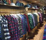 Branded clothing wholesale