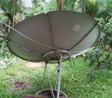 All satellite dish fixing