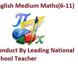 English Medium Maths Classes (6-11) in Malabe Conduct by Government Teacher
