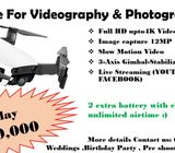 Drone For Videography & Photography