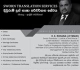 RJ TRANSLATION SERVICES - BORALESGAMUWA