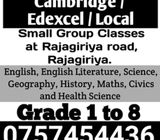 Small Group Classes at Rajagiriya