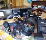 Nikon D5200 Camera with 18-105 Lens