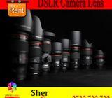 DSLR Camera Lens For Rent
