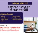 Typing Service