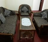 CANE SOFA SET FOR IMMEDIATE SALE