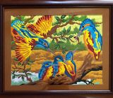 Long Stitched Art -