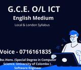 English medium O/L ICT