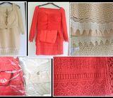 Bridal Sarees, Traditional Sarong kit and Blazer Kit for Sale