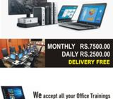 LAPTOPS Desktops for Rent