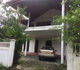 Ground Floor of a house for rent in Rukmalgama