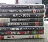 PS3 Super Slim 500gb With Games.