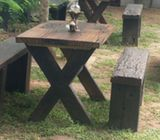 Railway Timber Garden Furniture