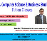 ICT - Computer Science and Business Tuition Classes