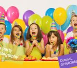 Kids Birthday party and event Photography