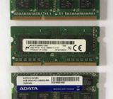 DDR3 Laptop RAM (4GB/2GB)