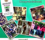 Congratulation Ladies! You Are Exclusively Invited To Spend An Evening With Amanté Congratulation La