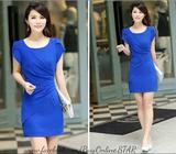 New Fashion Petal Sleeve Slim Dress