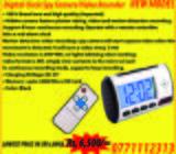 Spy Camera Digital Clock HD - HIGH QUALITY GRADE A