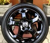 17 Inch Alloy Wheels with Yokohama Tyres