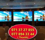 Sri Lanka Colombo LED Video Screen Wall Digital Rental Outdoor Indoor Advertising