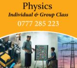 Physics individual & group class