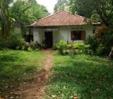 Land with an old house in Peralanda