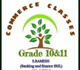 Commerce Classes Tamil and English medium (grade 10,11)