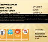 Online classes for Local / Edexcel/Cambrigde primary kids