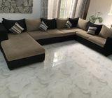 U shape sofa for SALE!