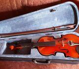 Violin for sale.