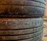 225/55 R17 97V - Used Tyres (2) for Sale - Bridgestone